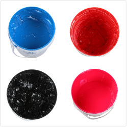 Приемлемые цены жидкого силикона пигментные чернила для текстильной трафаретной печати