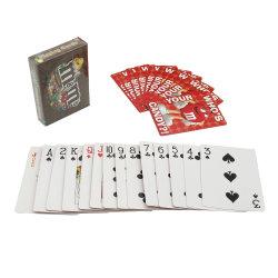 Custom печать картон Poker игральные карты бумаги