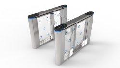 El control de acceso Sistema de seguridad de torniquete de giro de la puerta de canales automática