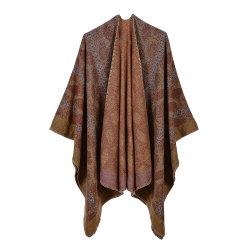 2021 cálida Cashmere chal chal de alta calidad para las mujeres Sudadera con capucha Collar de la plaza Superbig parche caliente satinado mate Diseño simple Mini Pleates mantón