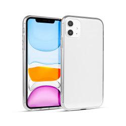 iPhone를 위한 긁 저항하는 투명한 연약한 TPU 뒤표지 전화 상자 11 직업적인 최대