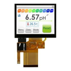320*240 Auflösung 3.5inch Fingerspitzentablett der 12 Uhr-Ansicht-TFT LCD mit Rtp