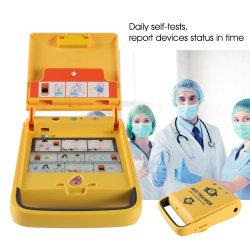 i3 ポータブル自動体外式心臓 AED 除細動器緊急トレーニング機器 病院の救急教育のため