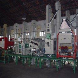 La capacidad de 50 toneladas de grano de arroz de la máquina de procesamiento automático de equipos de molienda