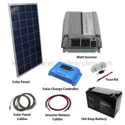 شبكة منزلية نظام شحن الطاقة الشمسية لخلايا أحادية البلورات بقدرة 5 كيلو واط