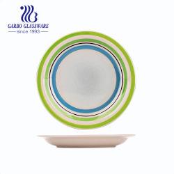 ألواح حجرية لوحة خزفية ملونة لوحة عشاء خزفية (TC23023196-E)