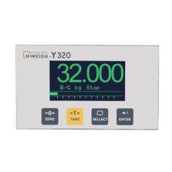 Y320 4-20mA 변형 게이지 로드 셀 일괄 중량 측정 표시기 컨트롤러