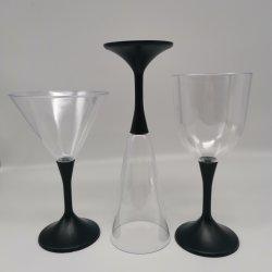 مصباح LED الطرف يشرب الزجاج يومض بلون منخفض لبيعها إضاءة LED كأس شامبانيا للشرب
