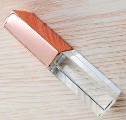 شعار مخصص كريستال USB فلاش محرك أقراص USB كريستال USB محرك قرص صغير سعة 4 جيجابايت سعة 8 جيجابايت وسعة 32 جيجابايت مع إضاءة