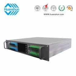 Rack Erbium-Doped amplificador EDFA de fibra () 16X18~22dBm con WDM