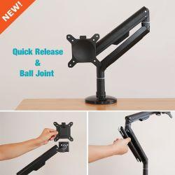 3-Way Fully-Adjustable inclinaison ergonomique Bureau exécutif Moniteur LCD Stand support de montage de bureau