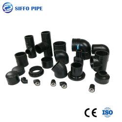 Fabricant Tee/coude de tuyau en PVC/embase PEHD /raccord de tuyau avec Butt Fusion de soudage/Electrofusion pour l'Irrigation/Approvisionnement en eau/l'exploitation minière