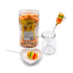 Aliments en gros Halal Sweet Burger Gummy Lollipop Candy Insant