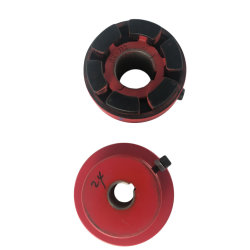 전동기를 위한 표준 테이퍼 구멍 무쇠 HRC 유연한 수도 펌프 샤프트 연결