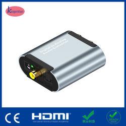 1xtoslink Digital de alta calidad a analógico 2xrcaaudio Converter
