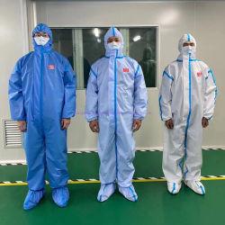 공장 가격 방수 두건이 있는 보호의 격리 작업복