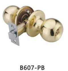 سعر أرخص جيد الجودة قفل دائري بالمقبض من الحديد (607PB-PS، ET، BK)