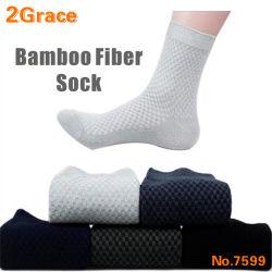 Lo sport di bambù antibatterico della fibra degli uomini di alta qualità colpisce con forza i calzini antibatterici per i piedi