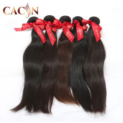 Mejor el 100% naturales sin procesar materias Remy Virgen India Brasileña de Malasia peruano chino camboyano trama Mink cabello tejido