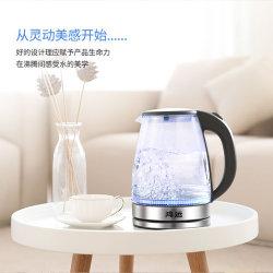 De Elektrische Ketel van het Flintglas van 1.8L de Hoge Ketel van het Water van het Glas Borosilicate voor het Toestel van de Keuken