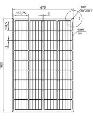 솔라 패널 110W 115W 120W 125W 130W 72셀 모노 115wp 솔라 PV 모듈 115W