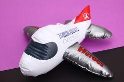 عقليّ & تربويّ لعب نموذج من طائرة قابل للنفخ صغيرة