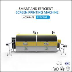 L'écran de soie personnalisé Full-Automatic Machine d'impression d'High-Precision Two-Color incurvée