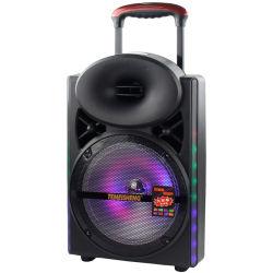 12인치 우퍼 60W A12-3 Temeisheng 플라스틱 디지털 가라오케 믹서 앰프 전문가용 스피커 시스템