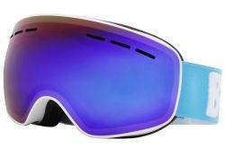 Óculos de neve Estilo Kids Lente Ventilação tira o logotipo do cliente