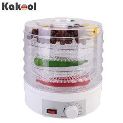 Professional Electric Conservante de alimentos de varias capas de carne de vacuno, carne o sacudidas de la cafetera, secador de frutas y hortalizas con 5 bandejas apilables de alimentos Máquina de botella
