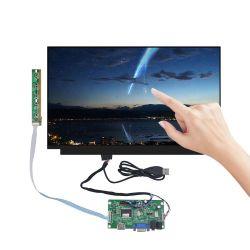 """15.6"""" 30pino EDP CTP do computador portátil de ecrã táctil LCD do painel da tela de toque capacitivo USB com Módulo Controlador de Driver"""