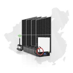 5,5 kw Hybrid Energy Storage dc l'énergie solaire Accueil 5500W 230VAC 100une onde sinusoïdale pure amovible Kits solaires de convertisseur de puissance