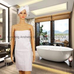التغليف الاعتمادية الطري غير المحبوك السفر إلى فندق Disposable White Bath منشفة
