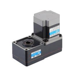 Faixa de Controle de Velocidade 200~2500RPM do motor DC com Caixa de Engrenagens Ltype