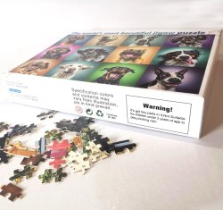 Venda por grosso de jogos para crianças Personalização Personalizado 1.000 peças quebra-cabeças de madeira