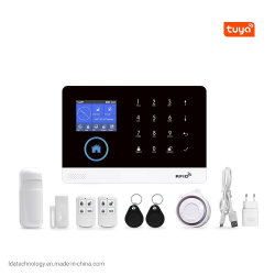 Tuya WiFi GSM 가정용 도난 보안 경보 시스템