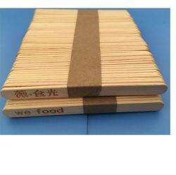 Bastone all'ingrosso/impacchettato del gelato di legno di betulla con il marchio stampato di marca
