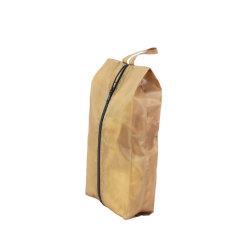 옐로우 폴리에스테르 남성용 신발 주퍼 도매 프로모션 파우치 재사용 먼지 봉투 토트백