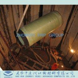 Anti tubo di corrosione FRP del filamento dell'acqua professionale di bobina