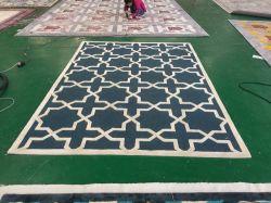 Moquette di bambù della fibra della pavimentazione antiscorrimento moderna commerciale