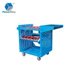 Ferramenta Powerway Carrinho CNC evolutivo da ferramenta de corte de armários de armazenamento
