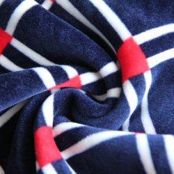 100%Polyester Plain strickendes gedrucktes zusammengesetztes aufgetragenes Vlies-Gewebe 380GSM für Kleid/Sportkleidung/Umhüllung