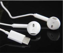 Huawei에 의하여 타전되는 헤드폰 헤드폰을%s Mic 입체 음향 Earbuds를 가진 Typec 이어폰