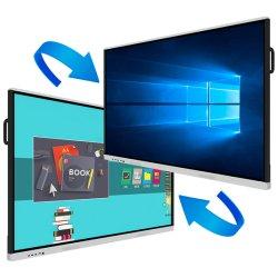 55 65 75 85 بوصة لوحة التلفزيون التفاعلية LED التعليمية لوحة اللوحة الإلكترونية الذكية الخاصة باللوحة البيضاء