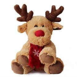 Weiche Gefüllte Elche Puppen Plüsch Spielzeug Weihnachtshirsch Plüsch Spielzeug Für Mädchen und Kinder Weihnachtsgeschenke