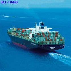 حاوية سعة 40 جالونًا في العام من الصين إلى ميناء لوس أنجلوس بالولايات المتحدة الأمريكية النقل من الباب إلى الباب