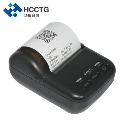 USB portátil de recibo térmico de 58 mm Mobile impressora portátil Bluetooth Hcc-T12