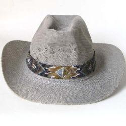 구슬로 만드는 모자 악대 25 년 공장 주문 카우보이, 유리제 씨 구슬은 머리띠, 뻗기 Hatband에 의하여 구슬로 장식된 벨트 240 아련히 나타났다