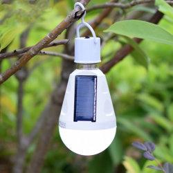 La energía solar portátil Lámpara LED luces de emergencia recargable lámpara colgante de iluminación de lectura impermeable