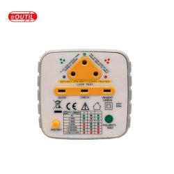 Prise de courant électrique USA Testeur de polarité de l'analyseur de test du RCD et les équipements de test de boucle
